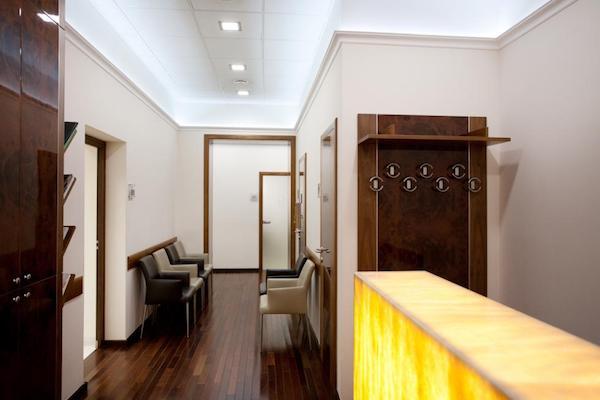 Budapest Dental Clinic - waiting room